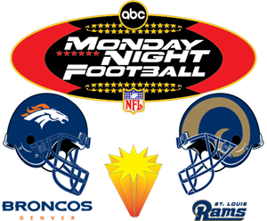 NFL Monday Night Football Logo Vector