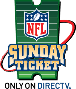 NFL Sunday Ticket Logo Vector