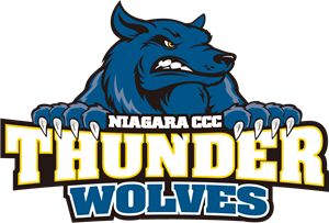 Niagara Junior Thunderwolves Logo Vector