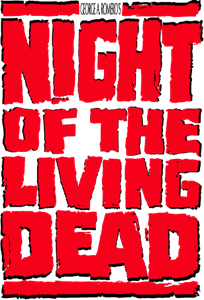 Night of the Living Dead Logo Vector