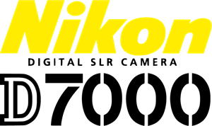 Nikon digital SLR camera D7000 Logo Vector