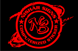 Nisar Signs Logo Vector