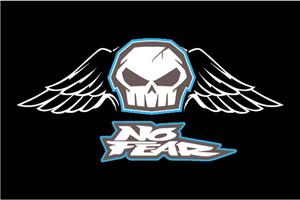 No Fear Skull Logo Vector