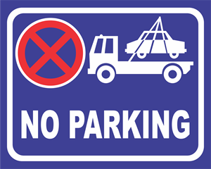 no parking Logo Vector