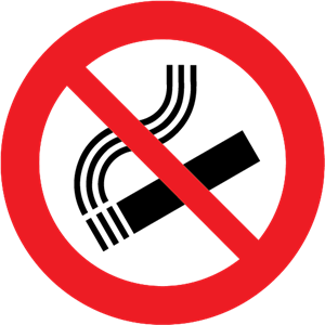 NO SMOKING CLASSIC SIGN Logo Vector