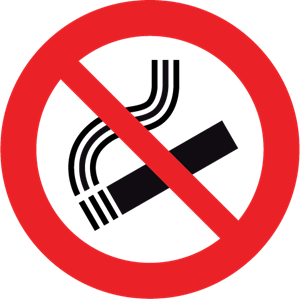 No Smoking Logo Vector