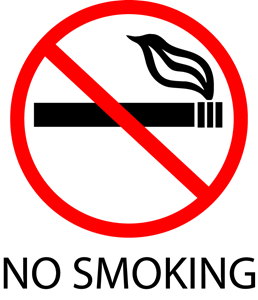 No smoking sign Logo Vector