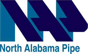 North Alabama Pipe (NAP) Logo Vector