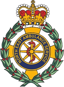 North East Ambulance Service Logo Vector