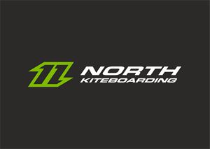 North Kiteboarding Logo Vector