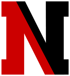 NORTHEASTERN HUSKIES Logo Vector