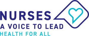 Nurses ICN Voice to Lead Logo Vector