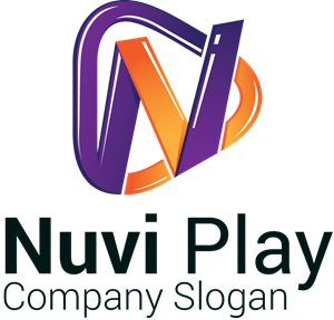 Nuvi Play Game with a L letter Logo Vector