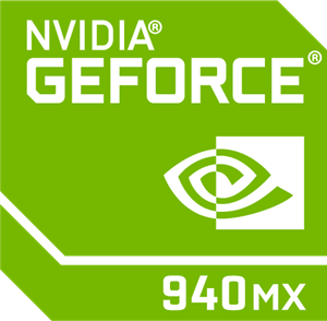 nVidia GeForce 940MX Logo Vector
