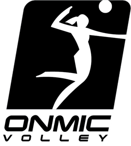 ONMIC VOLLEYBALL Logo Vector