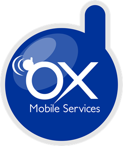 OX Mobile Services Logo Vector