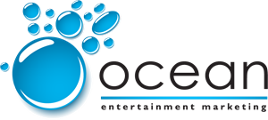 Ocean Entertainment Marketing Logo Vector