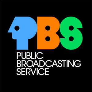 Old PBS (Public Broadcasting Service) Identity Logo Vector