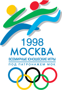 Olympic Junior Moscow 1998 Logo Vector