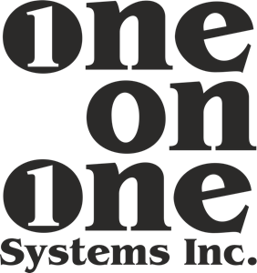 One on One Systems Logo Vector