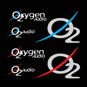 Oxygen Audio O2 Logo Vector