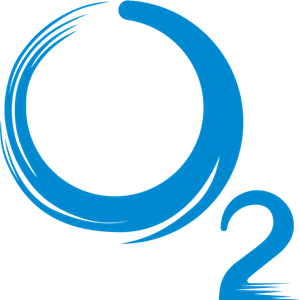 O2 Cycling Logo Vector