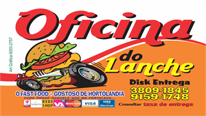 Oficina do Lanche Logo Vector