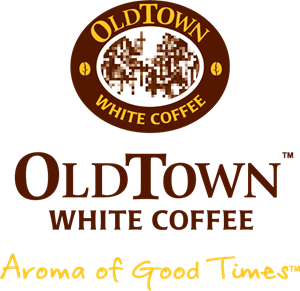 Old Town White Coffee Logo Vector