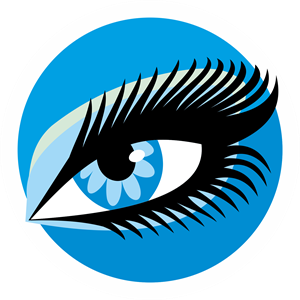 Olho azul | Blue eye Logo Vector