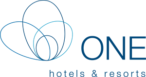 One Hotels Resort Logo Vector