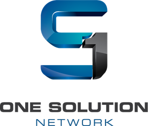 One Solution Network Logo Vector