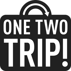 One Two Trip Logo Vector