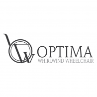 Optima Whirlwind Wheelchair Logo Vector
