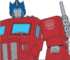 optimus prime Logo Vector