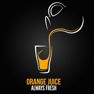 orange juice logo vector eps free download orange juice logo vector eps free