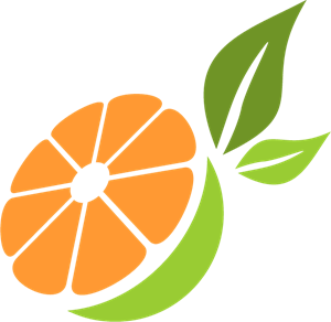 Orange Logo Vector