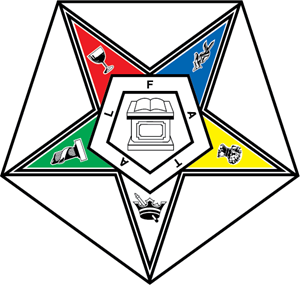 Order of the Eastern Star Logo Vector
