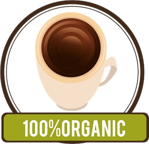 Organic coffee Logo Vector