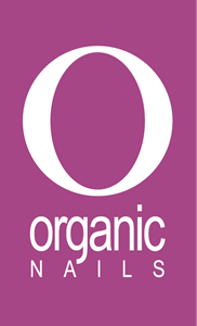 Organic Nails Logo Vector
