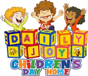 Our Daily Joy Childrens Day Home Logo Vector