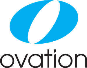Ovation Channel Logo Vector