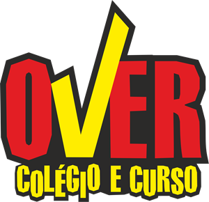 Over Colégio e Curso Logo Vector