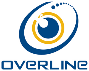over line Logo Vector