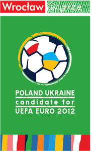 POLAND UKRAINE candidate for Uefa Euro 2012 Logo Vector