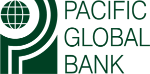 Pacific Global Bank Logo Vector