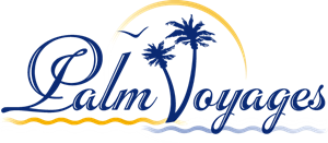Palm Voyages Logo Vector