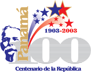 Panama 100th Year Anniversary Logo Vector