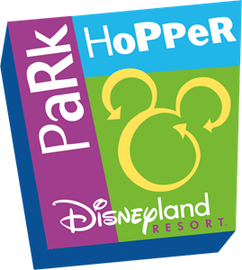 Park Hopper Pass Disneyland Logo Vector