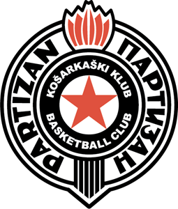 Partizan Basketball Club Logo Vector