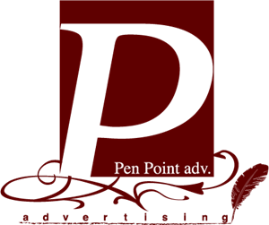 Pen Point Adv. Logo Vector